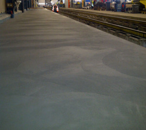 cementvloeren NMBS werkplaats
