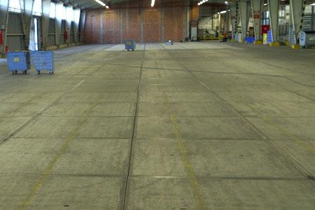 renovatie van een betonvloer