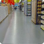 Winkelvloeren/showrooms